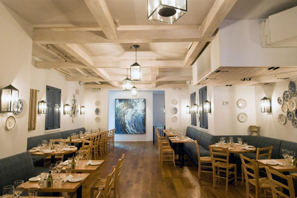 Kefi greek restaurant in new york feels like greece