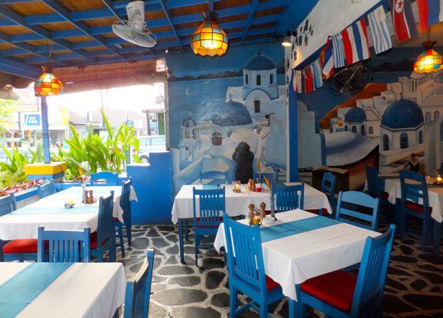 Mykonos greek restaurant bali feels like greece